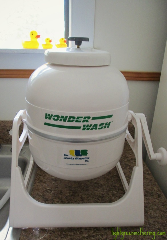 Wonder Wash for cloth diapers