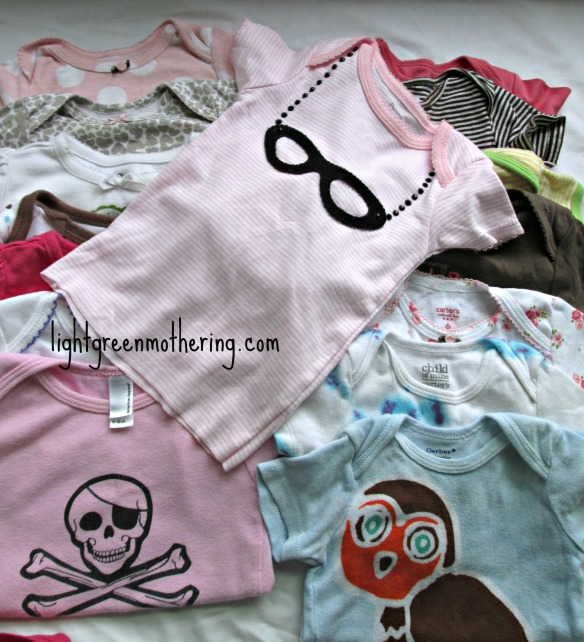 DIY Baby T-Shirt ~ lightgreenmothering.com
