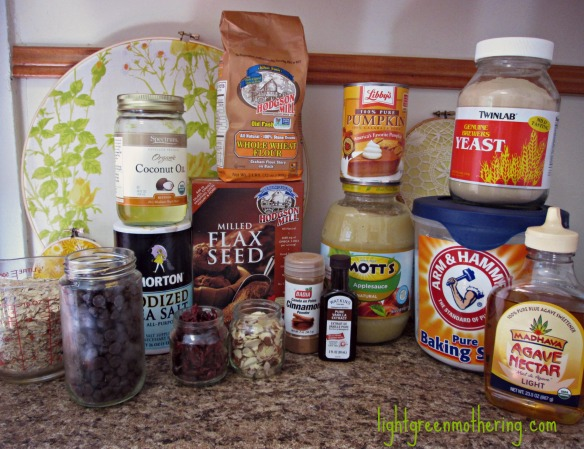 Healthy Vegan Lactation Bars ~lightgreenmothering.com