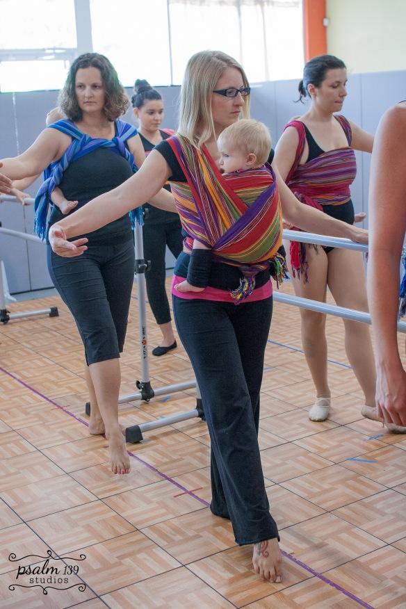 Babywearing Ballet ~ lightgreenmothering.com