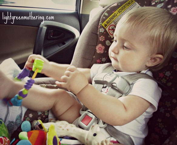 Baby Long Distance Travel Survival.  ~lightgreenmothering.com