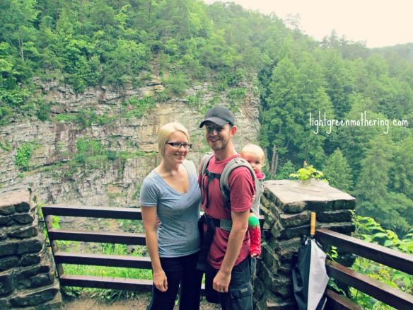 Fall Creek Falls in Tennessee ~lightgreenmothering.com