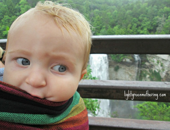 Baby Love Wrap. ~lightgreenmothering.com