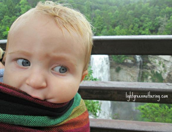 Baby Love Wrap. ~lightgreenmothering.com