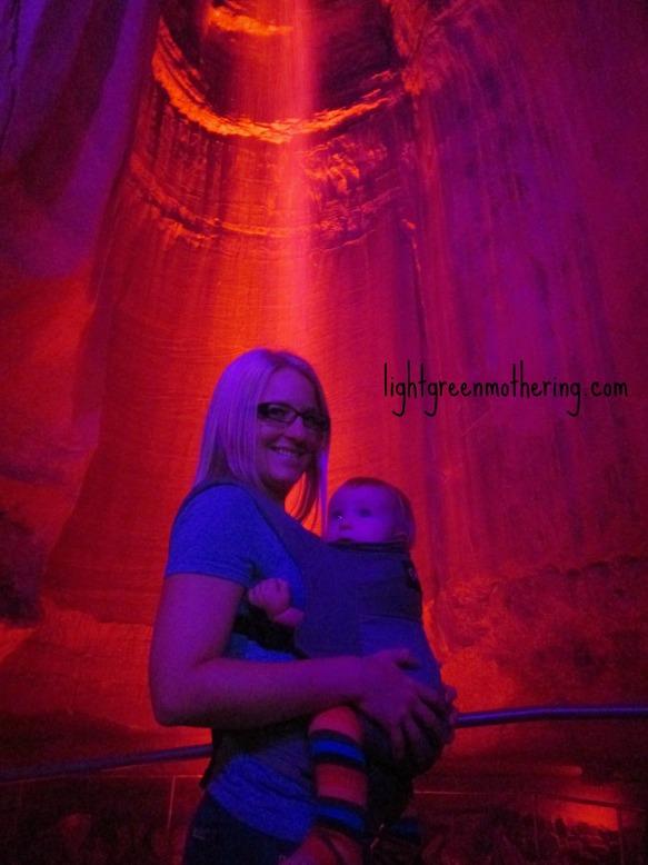 Ruby Falls Tennessee ~lightgreenmothering.com
