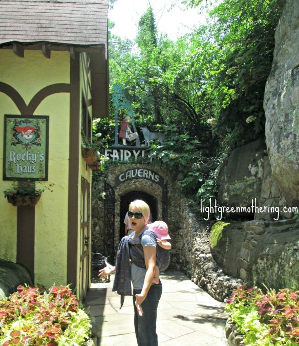 Fairyland at See Rock City Tennessee ~lightgreenmothering.com
