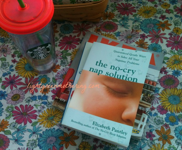 No Cry Nap Solution Book Review ~lightgreenmothering.com